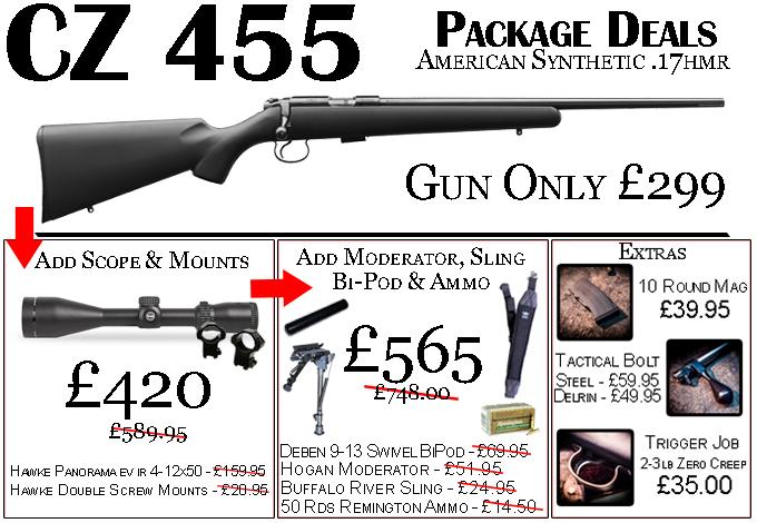 CZ 455 Package Deals