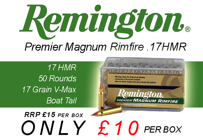 Remington .17 HMR Ammo