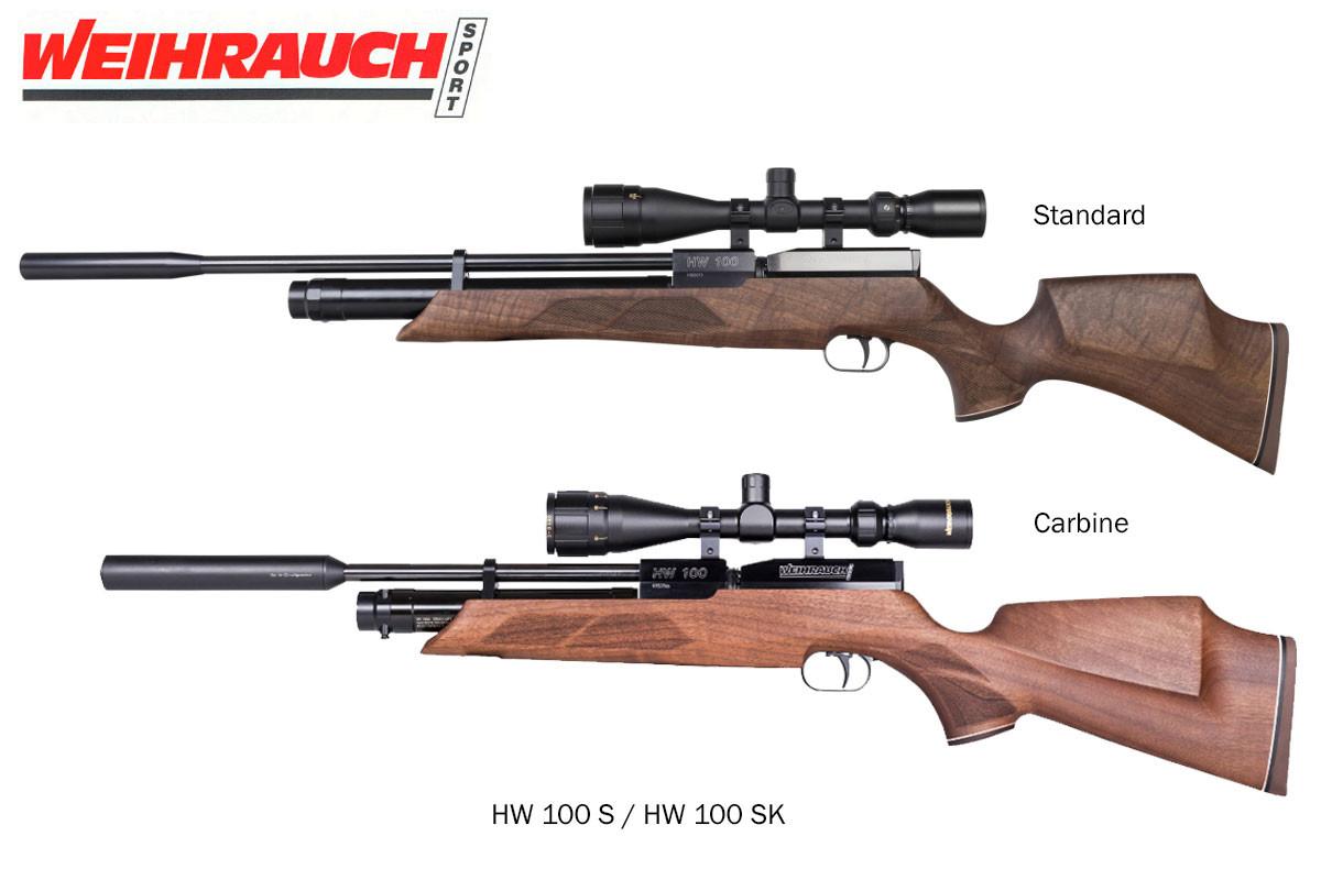 Buy Weihrauch HW 100 Air Rifle - Shop at Cheshire Gun Room ...