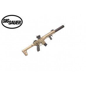 Sig Sauer MCX Flat Dark Earth With Sig 20R Red Dot - .177 Cal - Semi-Automatic