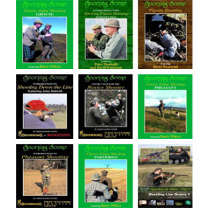Sporting Scene Series DVD's