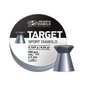 JSB Diabolo Target .177 Airgun Pellets 4.50mm