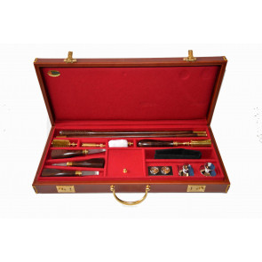 Emmebi Leather Gun Care Box