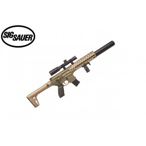 Sig Sauer MCX Flat Dark Earth with Sig 1-4x24 scope - .177 Cal - Semi-Automatic