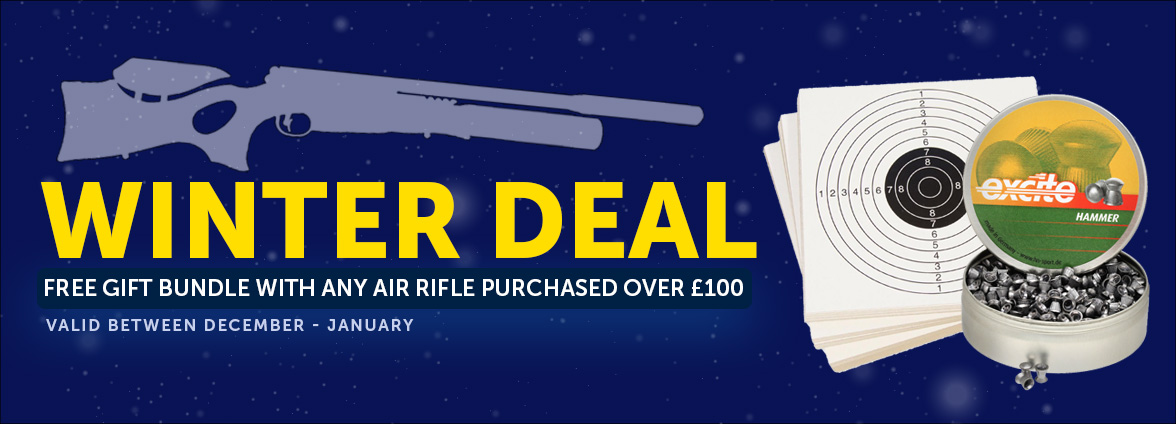 Air Rifle Christmas Free Gift Bundle Offer
