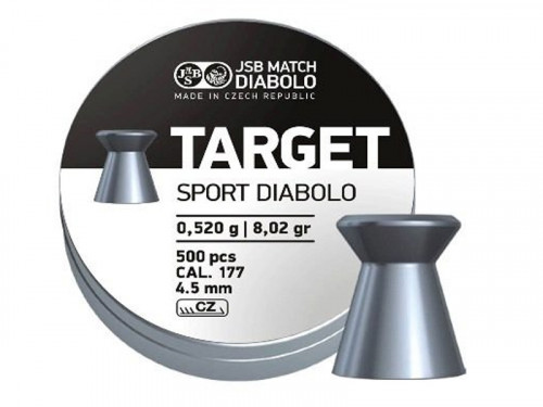 JSB Diabolo Target .177 Airgun Pellets 4.50mm