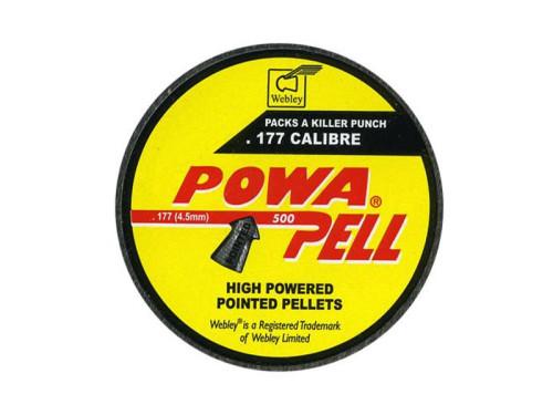 Webley Powapell .177 Pellets 4.5mm