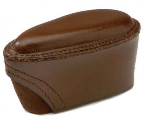 GMK Brown Leather Slip-On Pad