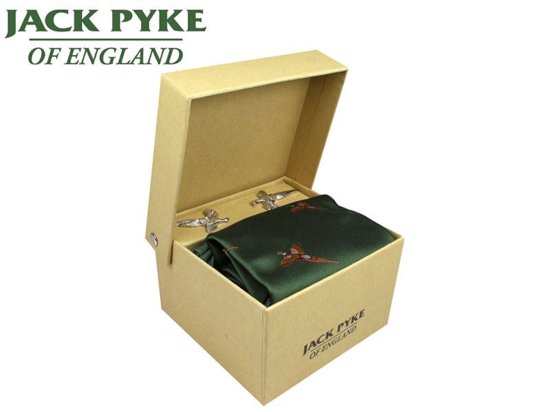 Jack Pyke Tie Hanky /& Cufflinks Gift Set