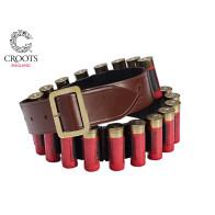 Croots Malton Bridle Leather Cartridge Belt - Quick Release
