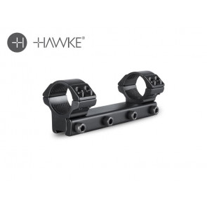 "Hawke 1"" Match Mount 1 Piece 9-11mm Medium"