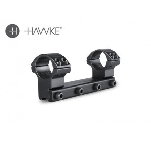 "Hawke 1"" Match Mount 1 Piece 9-11mm High"