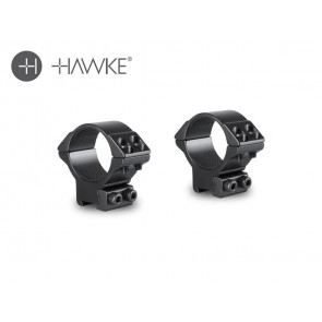 Hawke 30mm Match Mount 2 Piece 9-11mm Medium