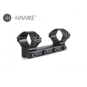 Hawke 30mm Match Mount 1 Piece 9-11mm High