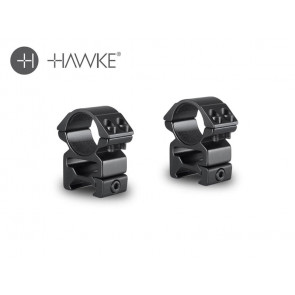 "Hawke 1"" Match Mount 2 Piece Weaver High"