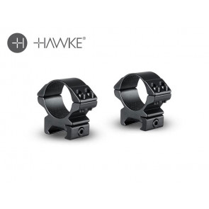 "Hawke 30"" Match Mount 2 Piece Weaver Low"