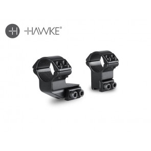 "Hawke 1"" Extension Ring 1"" 2 Piece 9-11 High"