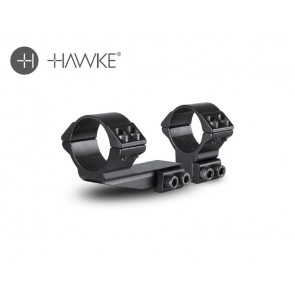 "Hawke 2"" Extension Ring 30mm 2 Piece 9-11mm High"