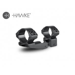 """Hawke 2"""" Extension Ring 30mm 2 Piece Weaver High"""
