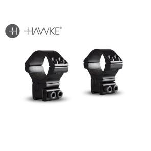Hawke Adjustable 30mm 2 Piece 9-11mm High