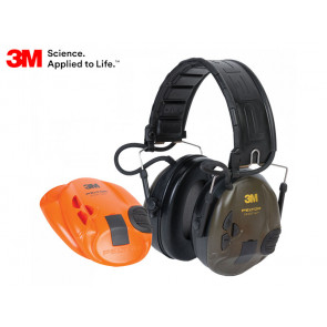 3M Peltor SportTac Interchangeable Hunting Ear Muffs