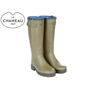 Le Chameau Men's Chasseur Neoprene Boot Vert Vierzon Green