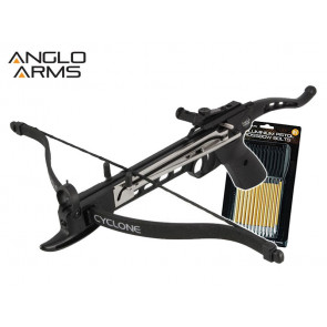 Anglo Arms Cyclone 80lb Self Cocking Pistol Crossbow Kit