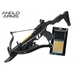 Anglo Arms OP360 80lb Self Cocking Pistol Crossbow Kit
