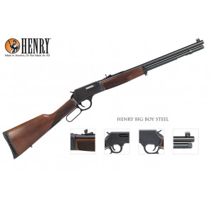 Henry Rifle - Big Boy Steel