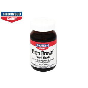 Birchwood Casey Plum Brown 5oz Glass Bottle