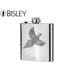 Bisley English Pewter Pheasant Hip Flask