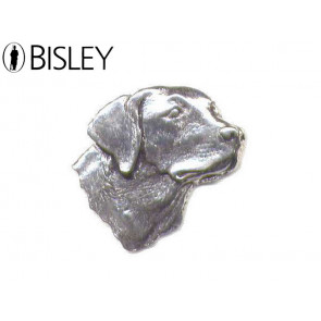 Bisley Pewter Pin - Labrador's Head