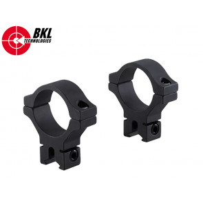 BKL-303 30mm 2pc Single Strap Low Scope Rings