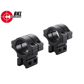 BKL-304 30mm 2 Piece Double Strap Low Scope Rings