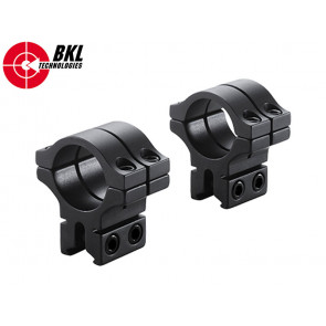 BKL-463 1 inch 2pc Double Strap 14mm Rail Rings