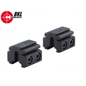 BKL 2 Piece 14mm plus 1″ Tri-Mount Dovetail Riser Rail
