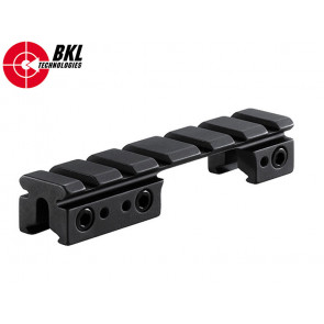 BKL-558 3/8 or 11mm Rail to Weaver 1 Piece 4 Bolt Action Adapter