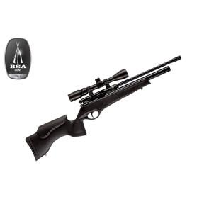 BSA Scorpion SE Air Rifle Black Tactical