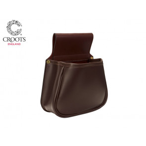 Croots Byland Leather Panier Bag 50 Capacity - Oxblood