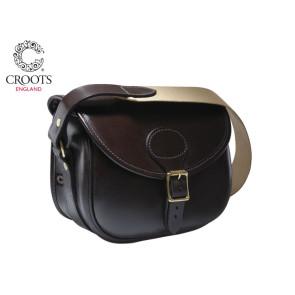 Croots Malton Bridle Leather Cartridge Bag 150 Capacity