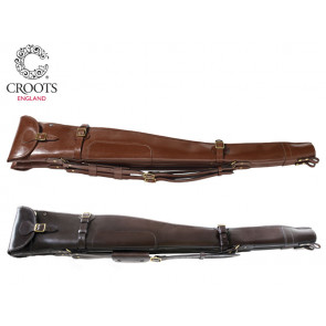 Croots Malton Leather Double Shotgun Slip