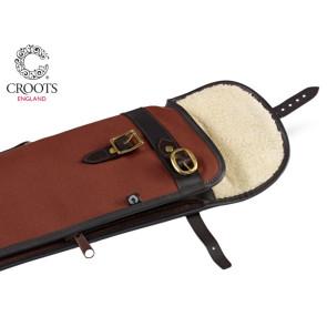 Croots Rosedale Canvas Zip Flap Bipod Rifle Slip