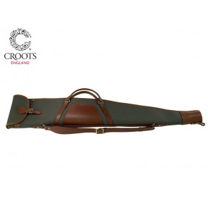 Croots Rosedale Canvas Zip Flap Bipod Rifle Slip with Handles