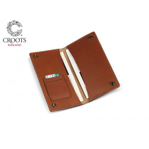 Croots Byland Leather Certificate Wallet