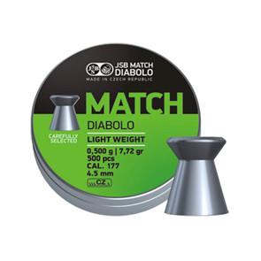 JSB Diabolo Match Light .177 Pellets