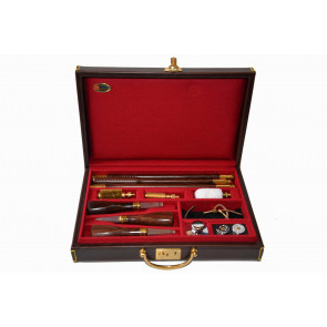 Emmebi Leather Mini Gun Care Box