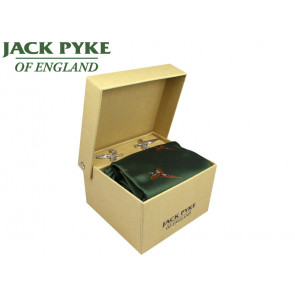 Jack Pyke Cufflink, Tie & Hanky Gift Set