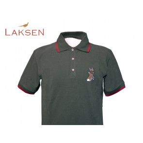 Laksen Buck Polo Shirt Green