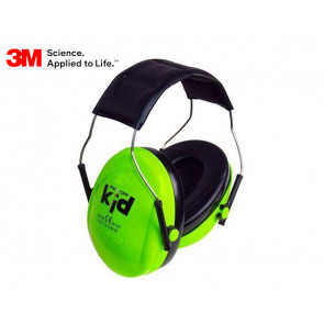3M Peltor Kid Junior Hearing Protection - Green