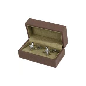 Soprano Pheasant Silver Cufflinks